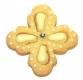 Fleur 6 cm 10x Ausstechform Ausstecher