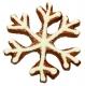 Eiskristall Schneeflocke 8cm 10x Ausstechform Ausstecher
