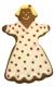 Frau 15 cm 10x Ausstechform Ausstecher